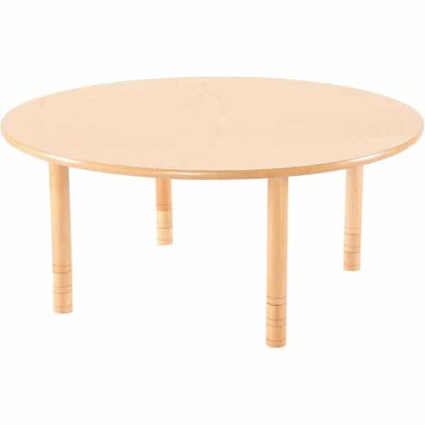 Kindergarten-Tisch Flexi (rund) - höhenverstellbar 40-58 cm 4