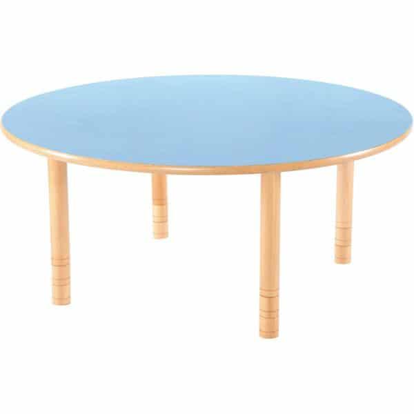 Kindergarten-Tisch Flexi (rund) - höhenverstellbar 40-58 cm 6