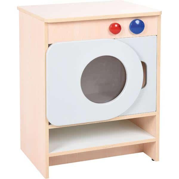 Kindergarten-Küche Quadro - Waschmaschine - Ahorn 1