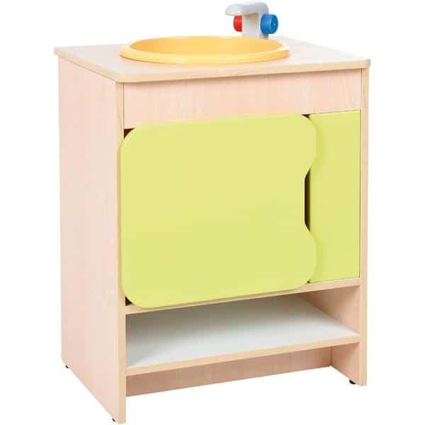 Kindergarten-Küche Quadro - Spüle - Ahorn 1
