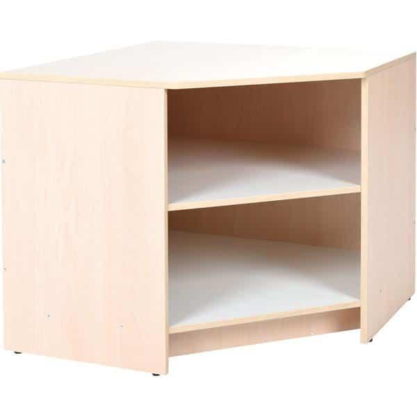 Kindergarten-Küche Quadro - Eckschrank - Ahorn 1