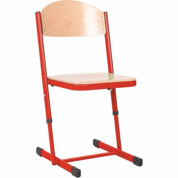 Kindergarten-Stuhl TS - höhenverstellbar 5-6 - Sitzhöhe 43-46 cm für Tischhöhe 71-76 cm 11
