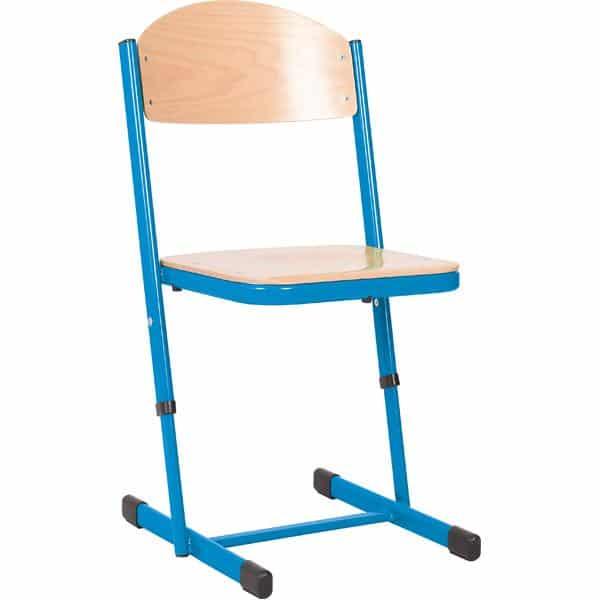 Kindergarten-Stuhl TS - höhenverstellbar 5-6 - Sitzhöhe 43-46 cm für Tischhöhe 71-76 cm 10