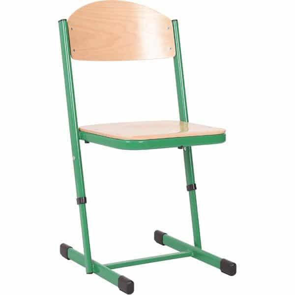 Kindergarten-Stuhl TS - höhenverstellbar 5-6 - Sitzhöhe 43-46 cm für Tischhöhe 71-76 cm 9