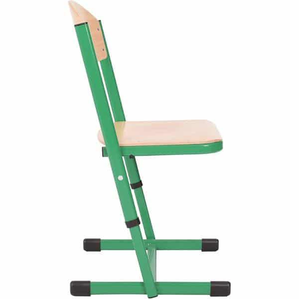 Kindergarten-Stuhl TS - höhenverstellbar 5-6 - Sitzhöhe 43-46 cm für Tischhöhe 71-76 cm 8