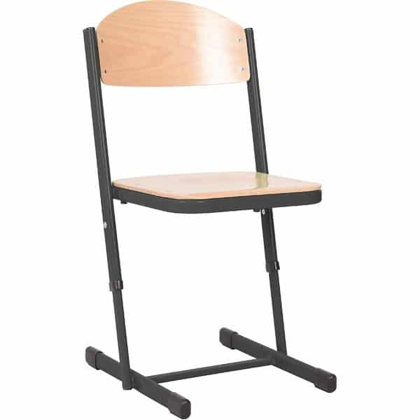 Kindergarten-Stuhl TS - höhenverstellbar 5-6 - Sitzhöhe 43-46 cm für Tischhöhe 71-76 cm 1