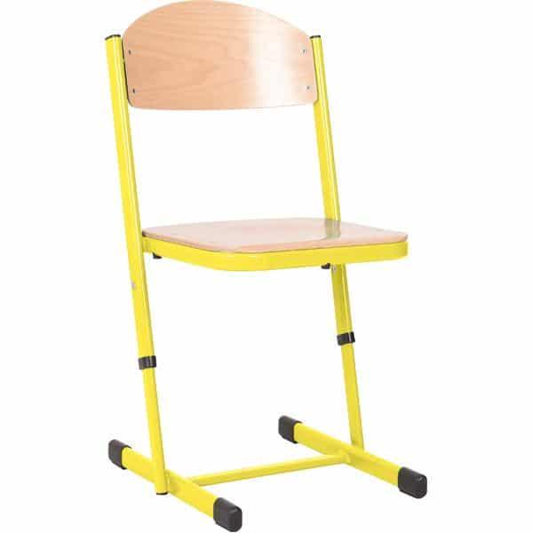 Kindergarten-Stuhl TS - höhenverstellbar 5-6 - Sitzhöhe 43-46 cm für Tischhöhe 71-76 cm 6