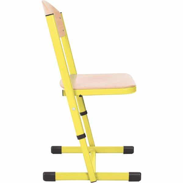Kindergarten-Stuhl TS - höhenverstellbar 5-6 - Sitzhöhe 43-46 cm für Tischhöhe 71-76 cm 5