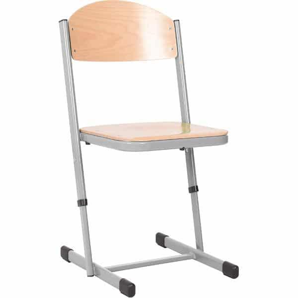 Kindergarten-Stuhl TS - höhenverstellbar 5-6 - Sitzhöhe 43-46 cm für Tischhöhe 71-76 cm 4