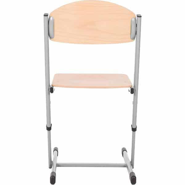 Kindergarten-Stuhl TS - höhenverstellbar 5-6 - Sitzhöhe 43-46 cm für Tischhöhe 71-76 cm 3