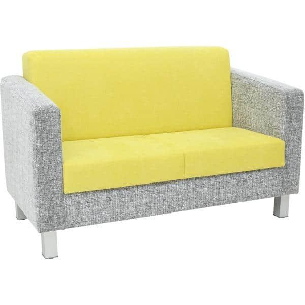 Kindergarten-Sofa Relax - grün-grau 1