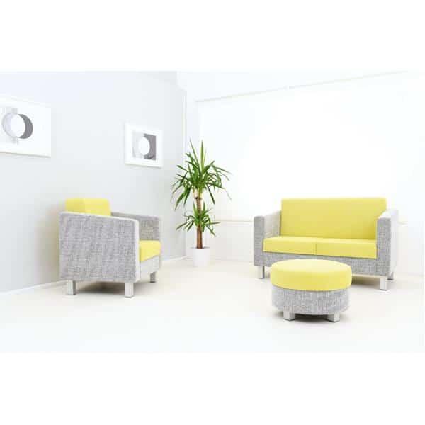 Kindergarten-Sofa Relax - grün-grau 3