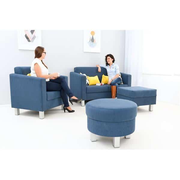 Kindergarten-Sitz Relax - rund - blau 2