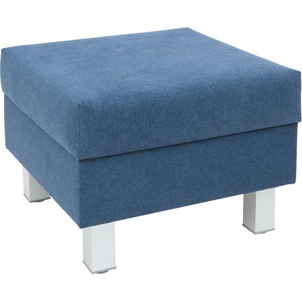 Kindergarten-Sitz Relax - quadratisch - blau 1