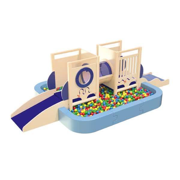 Kindergarten-Spielecke U-Boot 5 - mit großem Bällebad 2