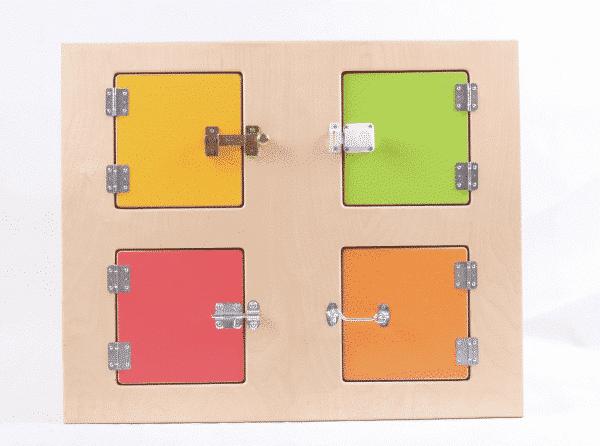Austauschbare Wandplatte zum Spielhaus 099130 - Türschlösser 1