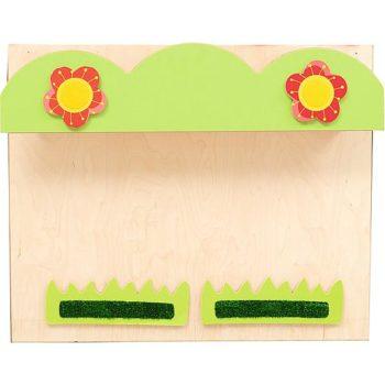 Austauschbare Wandplatte zum Spielhaus 099130 - Blumenkasten 5