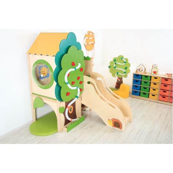 Kindergarten-Baumhaus ohne Rutsche 1