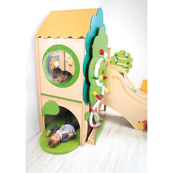 Kindergarten-Baumhaus ohne Rutsche 3