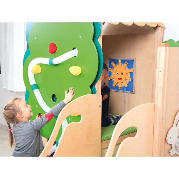 Kindergarten-Baumhaus ohne Rutsche 2
