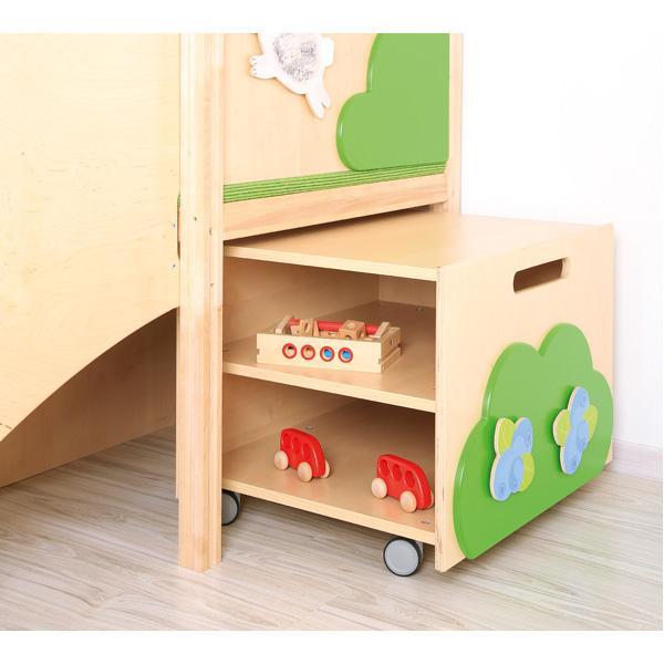 Kindergarten-Baumhaus mit Rutsche 4