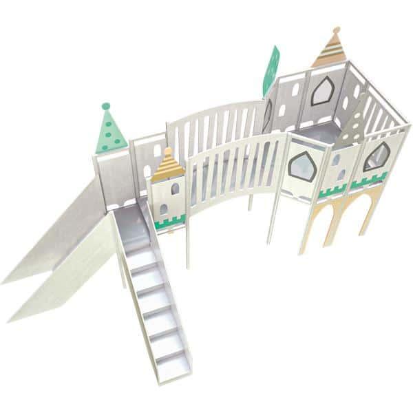 Kindergarten-Spielecke Märchenschloss 3