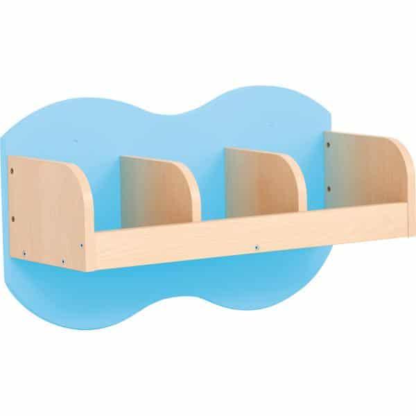 Kindergarten-Garderoben-Hängeregal Wolke 3 - Ahorn 5