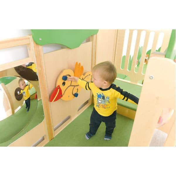 Kindergarten-Spielecke Vogelnest 4