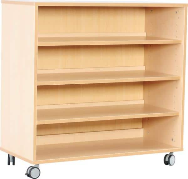 Kindergarten-Flexi Schrank M mit 3 Einlegeböden - Breite: 89 cm 1
