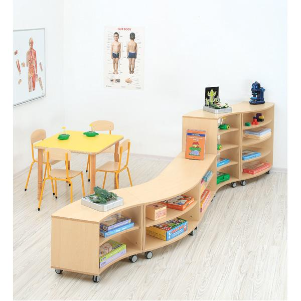 Kindergarten-Flexi Bogenschrank S 5
