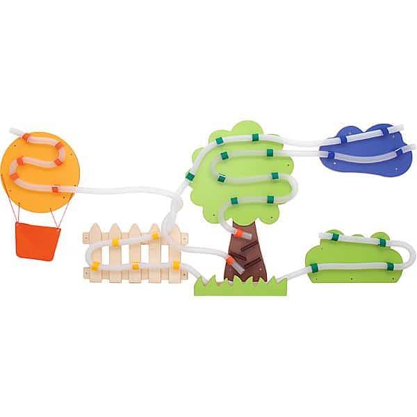 Wandapplikation mit Rohrpost - Heißluftballonfahrt 1
