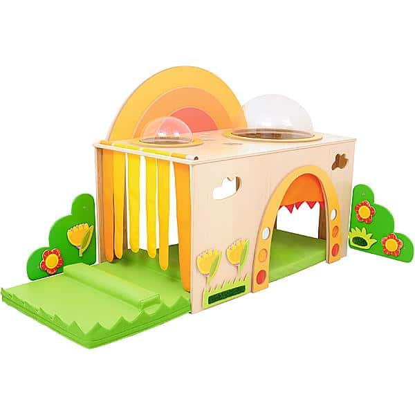 Kindergarten-Regenbogen-Höhle - Matte links 1