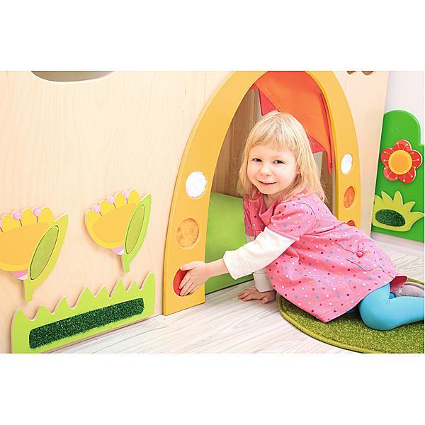 Kindergarten-Regenbogen-Höhle - Matte rechts 2