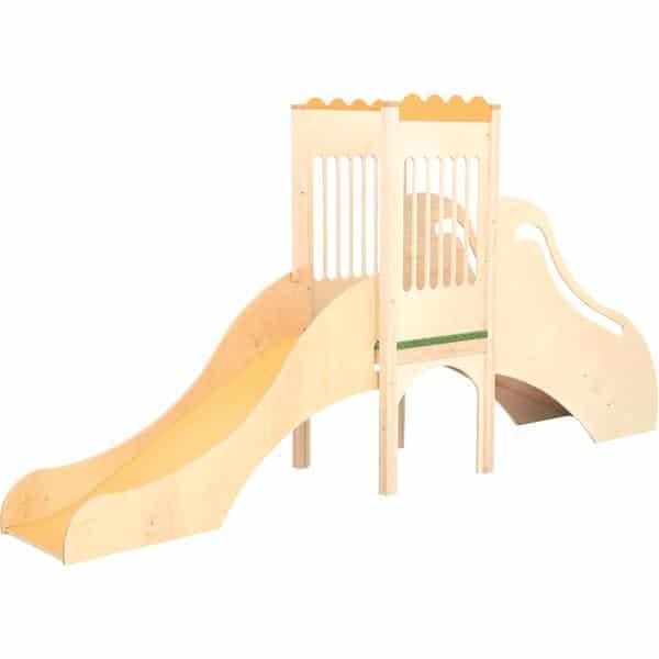 Kindergarten-Spielecke mit Rutsche 2