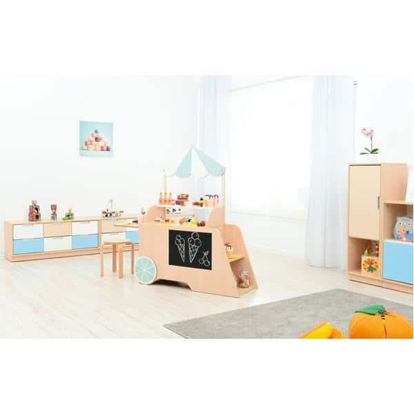 Kindergarten-Spielecke Eiswagen 2