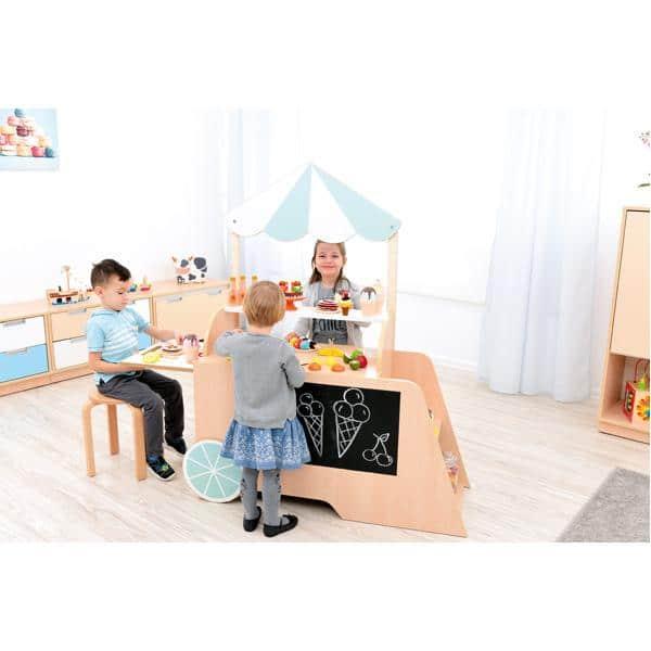 Kindergarten-Spielecke Eiswagen 3