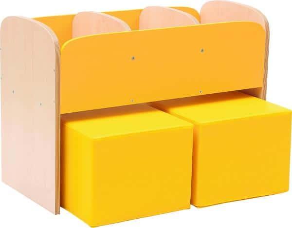 Kindergarten-Bücherregal Premium 5