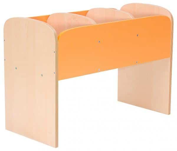 Kindergarten-Bücherregal Premium 4