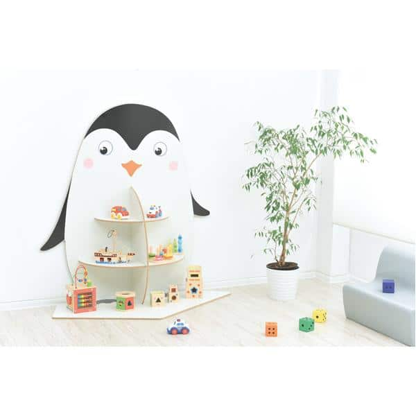 Kindergarten-Spielecken Regal - Pinguin 2