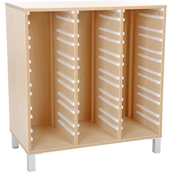 Schrank Premium für Behälter - Breite: 84 cm 1