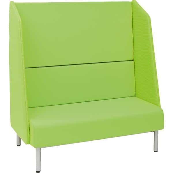 Sofa mit Hochlehne - Filzblenden 1