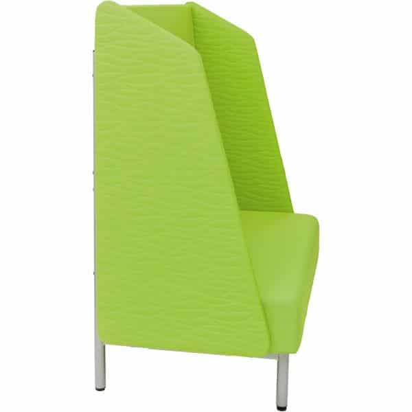 Sofa mit Hochlehne - Filzblenden 2