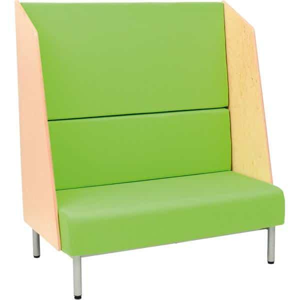 Sofa mit Hochlehne - lackierte Blenden 1