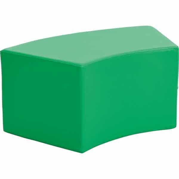 Achtelkreis-Sitz Paolo - kurz - grün 1