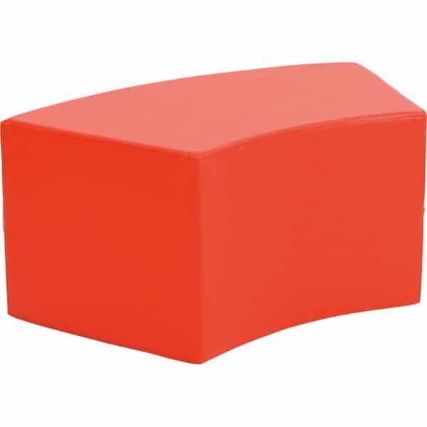 Achtelkreis-Sitz Paolo - kurz - rot 1