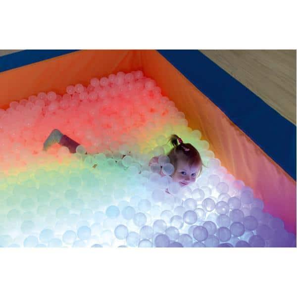Bällebad mit LED-Leuchten ohne Farbwechsel inkl. Bälle 4