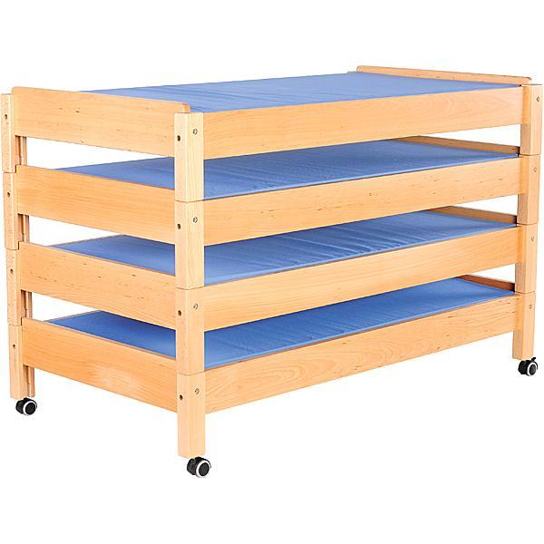 Holz-Kindergartenbett 2
