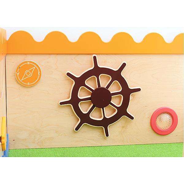 Sensorische Spielecke - Schiff - Rutsche rechts 4