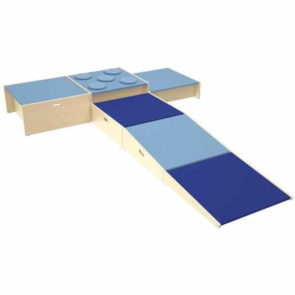 Podeste - Set 2 - blau 2