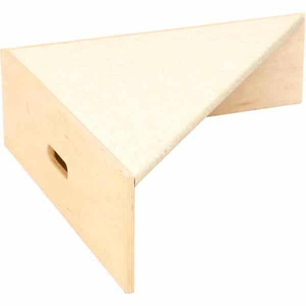 Kindergarten-Dreieckspodest Linoleum beige 1